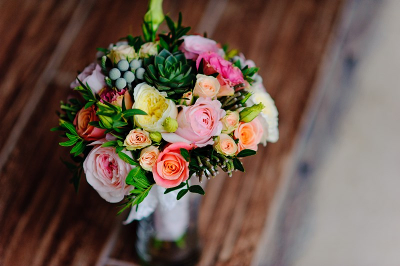 yellow-pink-and-orange-flower-bouquet-226145